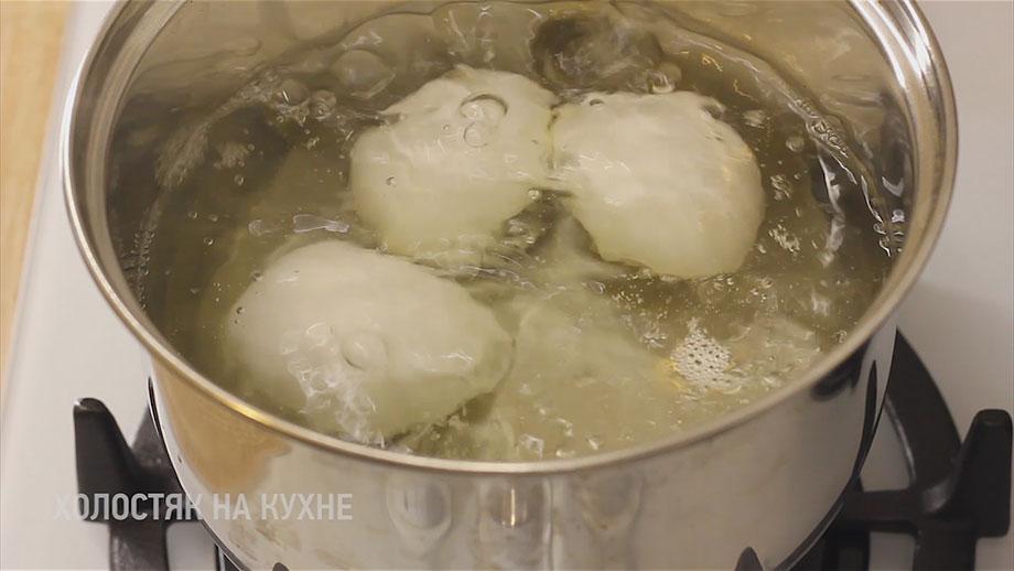 варка яиц в крутую