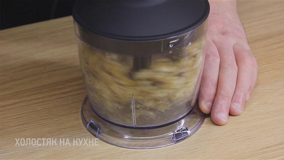 измельчение грецких орехов в блендере
